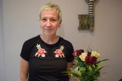 Carina hair stylist at Scissors Hair and Beauty Macclesfield